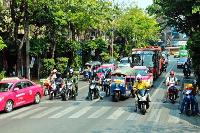 Bangkok Lots of people!