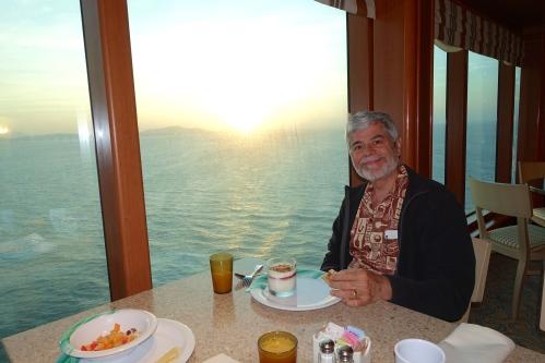 Breakfast. Horizon Buffet Sapphire Princess