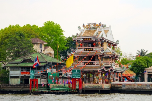 Chao Phraya River. China House