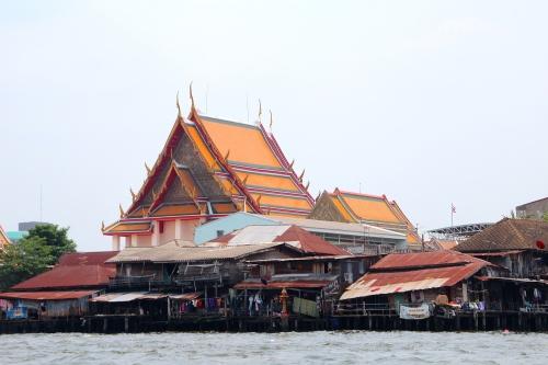 Chao Phraya River Contrast