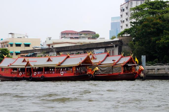 Chao Phraya River Sampans