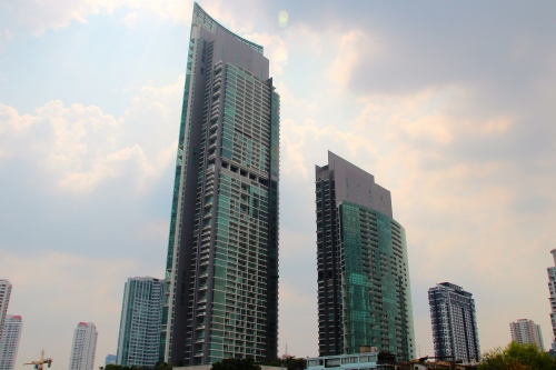 Chao Phraya River Skyscrapers