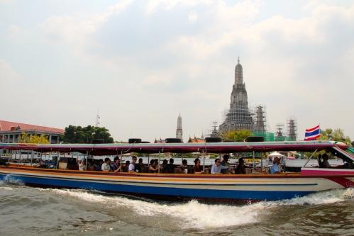 Chao Phraya River Wat Arun