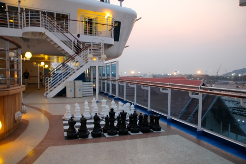 Chess anyone? Sapphire Princess