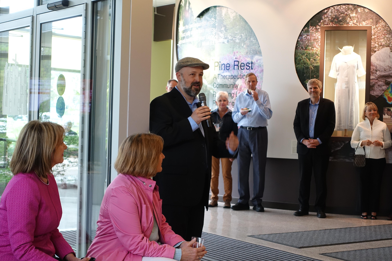Chris LaPorte at Pine Rest Reception 1