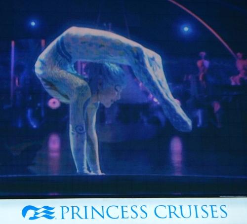 Cirque du Soleil Sapphire Princess