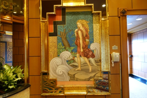Decor on the Sapphire Princess
