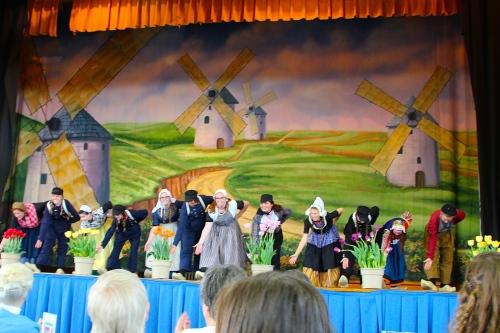 Dutch Folk Dancing Holland Tulip Time