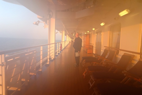 Foggy Morning Walk Sapphire Princess