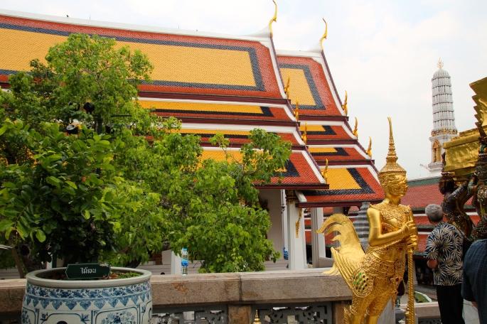 Grand Palace. Bangkok Wat Phra Kaeo