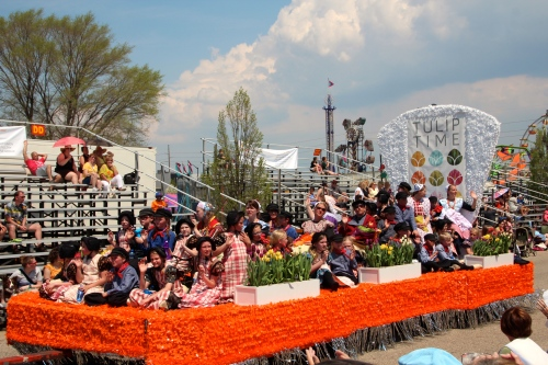 Holland Tulip Time Festival Float