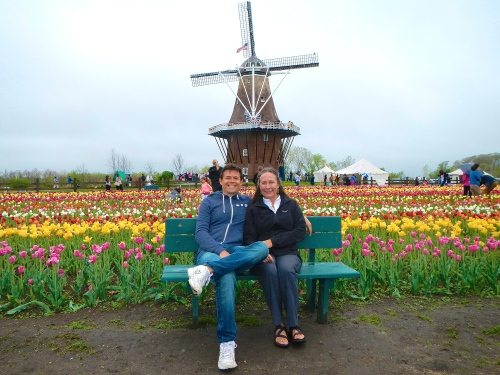 Holland with Aaron