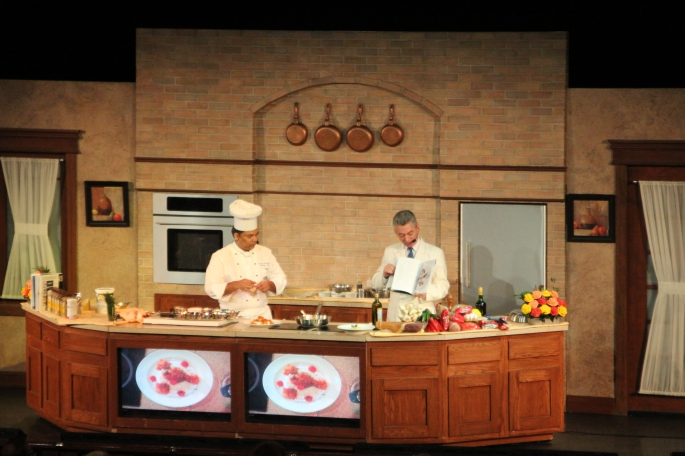 Lecture on Cooking. Sapphire Princess