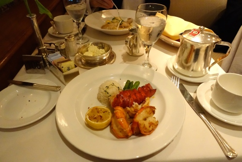 Lobster Dinner Sapphire Princess