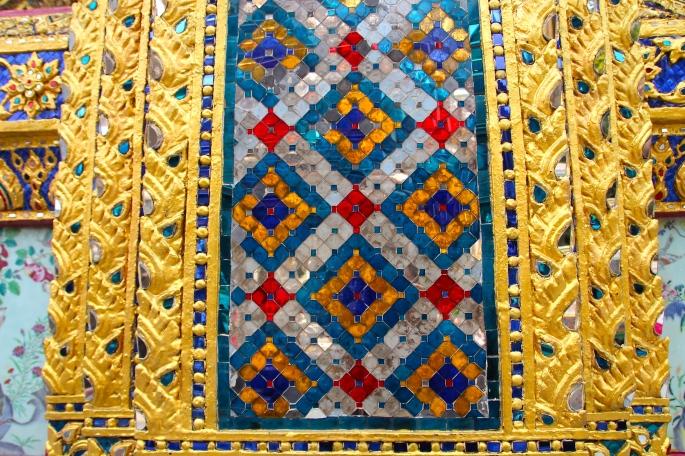Mosaic Inlays Grand Palace. Bangkok