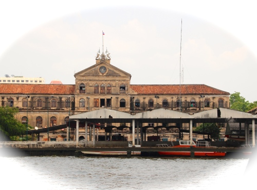 Old Building on Chao Phraya River