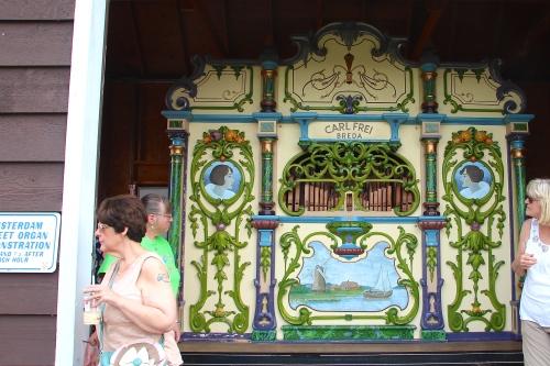 Organ on Windmill Island