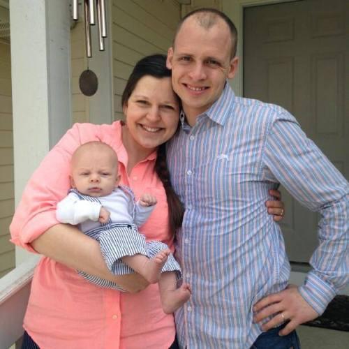 Parents with infant son