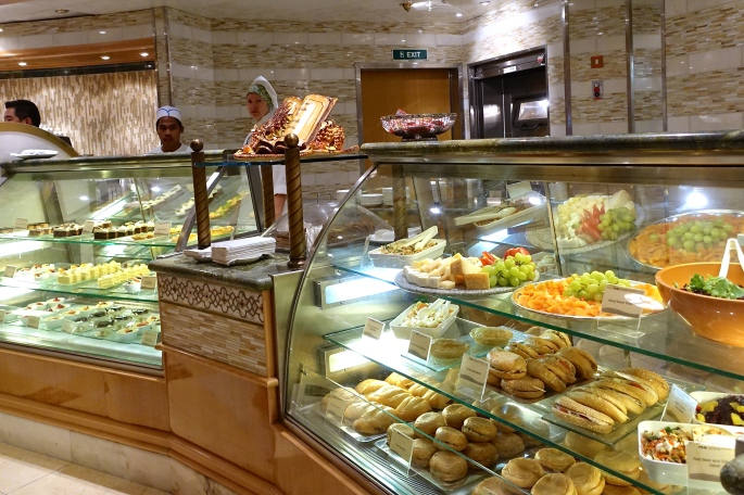 Pastries International Cafe Sapphire Princess