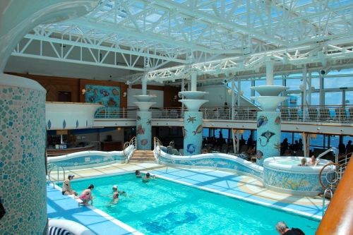 Sapphire Princess Conservatory Swimming Pool