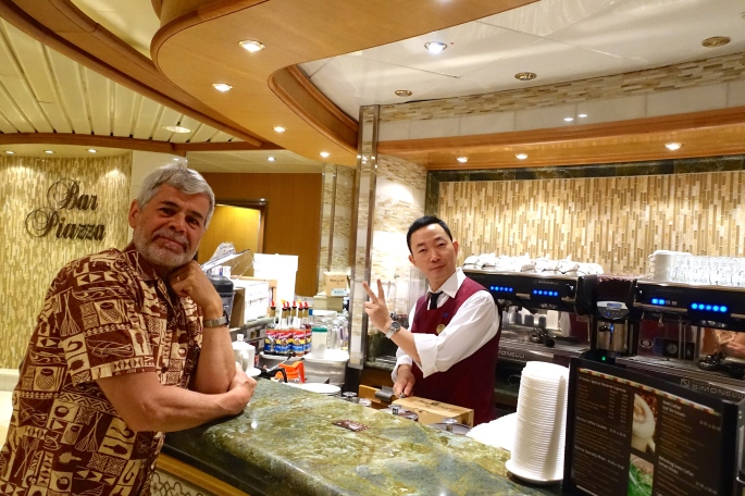 Sapphire Princess Early Morning Breakfast