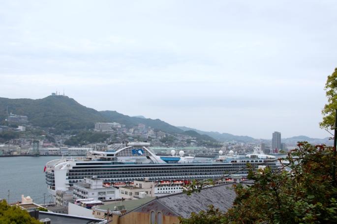 Sapphire Princess in Nagasaki