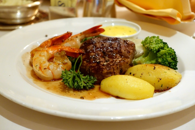 Surf and Turf Sapphire Princess