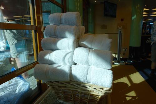 Towels Sapphire Princess