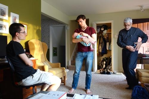 Visiting Dan and Brianna