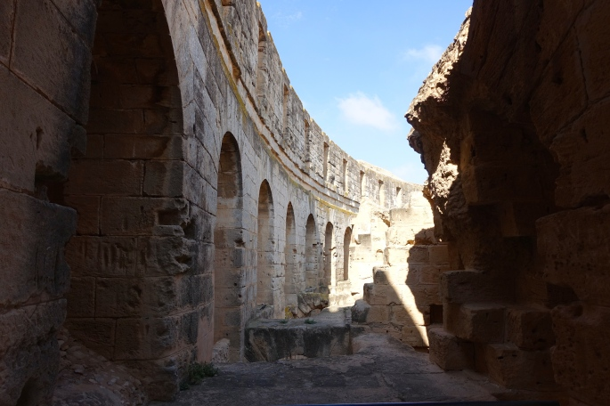 Amphitheater of Thysdrus at El Djem قصر الجمّ 12