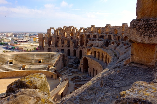 Amphitheater of Thysdrus at El Djem قصر الجمّ 13