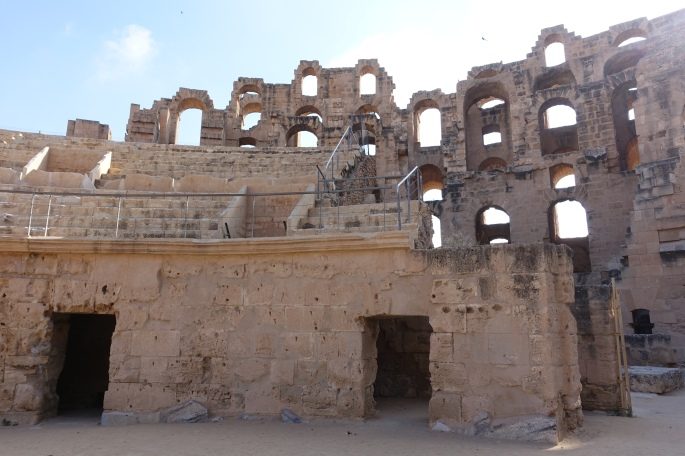 Amphitheater of Thysdrus at El Djem قصر الجمّ 7