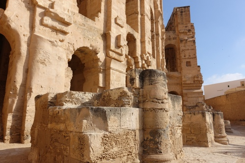 Amphitheater of Thysdrus at El Djem قصر الجمّ6