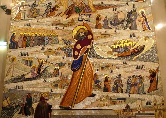 Basilica of Notre-Dame de Fourvière mural
