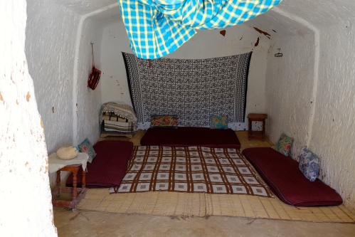 Bedroom. House in Rock. Tunisia