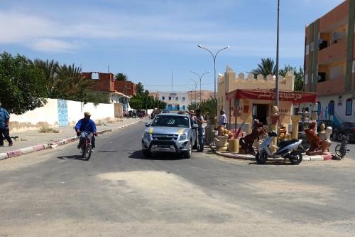 Gathering of Men in Tunisia