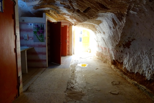 Home built in rock. Tunisia 2