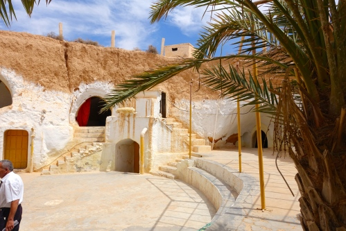 Home built in rock. Tunisia 3