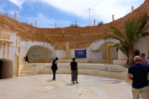Home built in rock. Tunisia 4