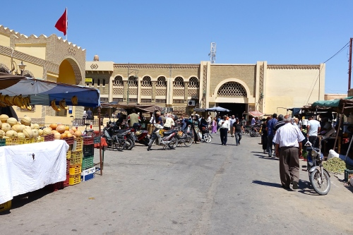 Market full of Men in Tunisia