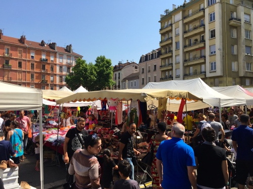 Market in Grenoble