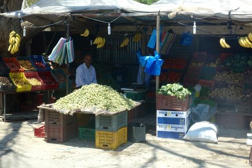 Men in market. Tunisia