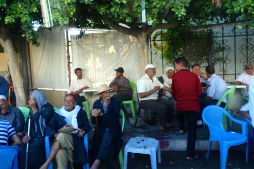 Men sitting around in Tunisia