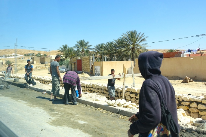 Men working on road in Tunisia 3
