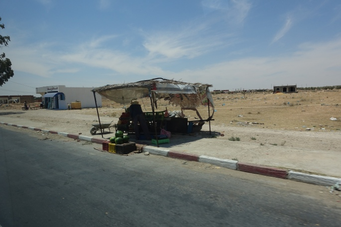 Roadside Stand in Tunisia
