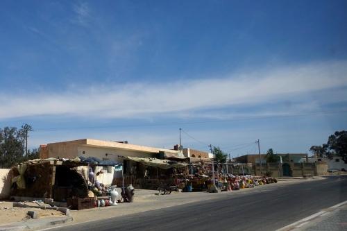Street Scene Typical in Tunisia