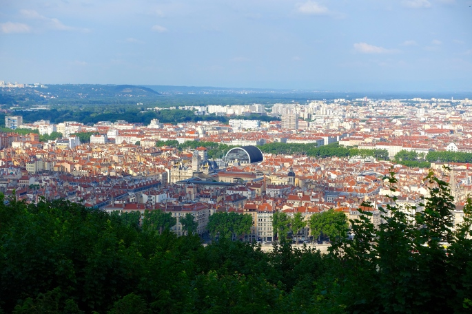 The City of Lyon, France