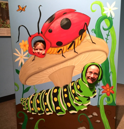 Buggy Cutout at Grand Rapids Public Museum