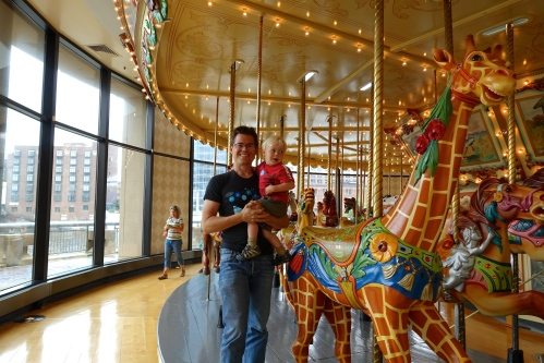 Carousel at Grand Rapids Public Museum 2