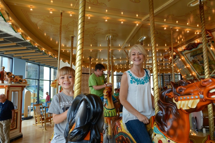 Carousel at Grand Rapids Public Museum.